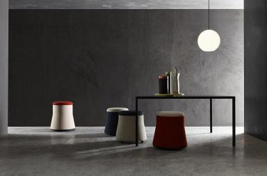 Joy, la seduta-pouf per ambienti versatili e multiformi