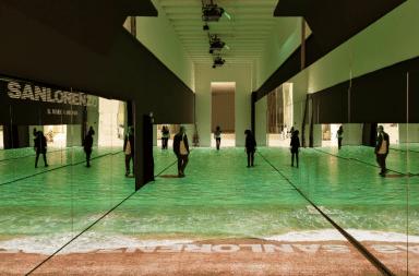 Installazione Sanlorenzo: Il Mare a Milano