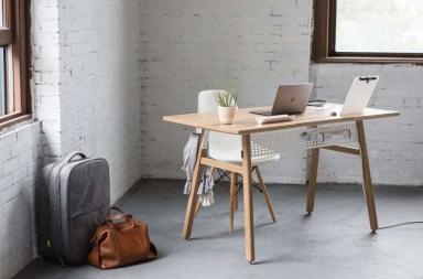 Scrivania design minimal Desk 02 by Artifox