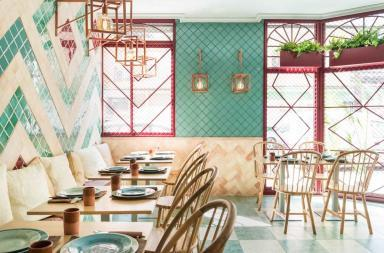 Stile andaluso per il restyling della pizzeria Albabel's