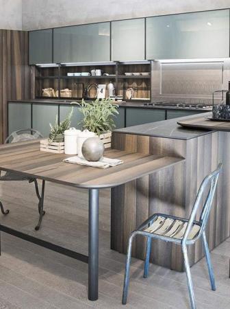 Cucina XP 2017, protagonista il vetro color menta
