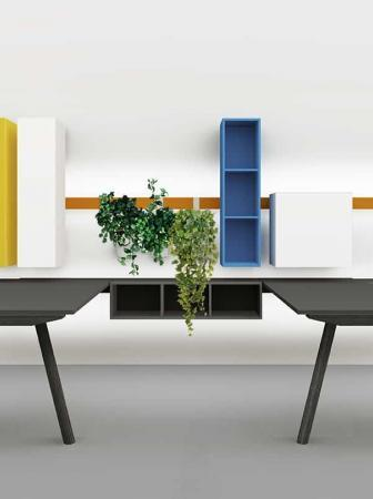 Sistema Milo, design Enzo Berti