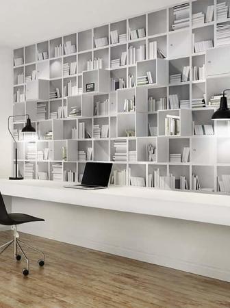 Carta da parati 3D che dona volume e profondità alle pareti