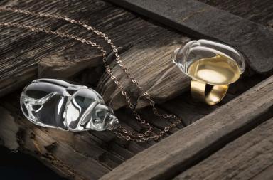 Creazioni di vetro Kristalline Wunderkammer di Simone Crestani