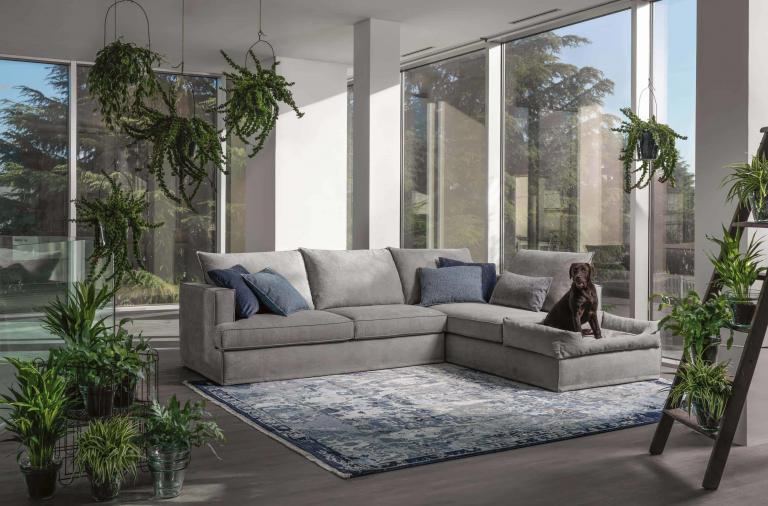 Come scegliere il divano adatto se si hanno animali in casa