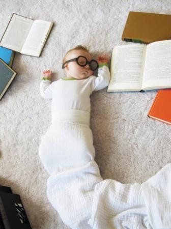 Bambini che dormono, le foto di Adele Enersen