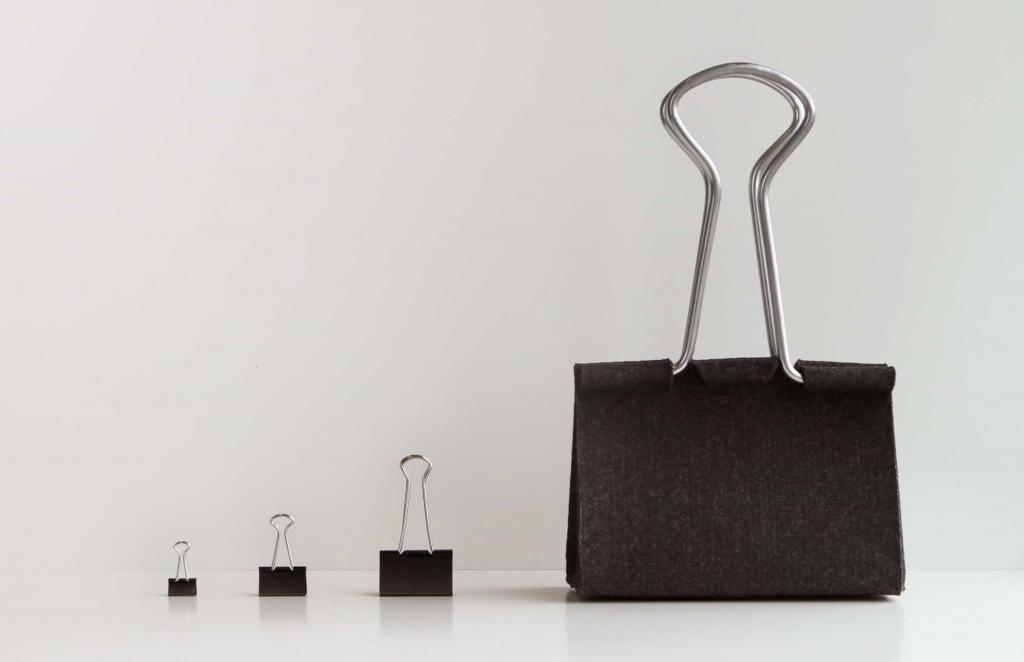 borsa clip bag