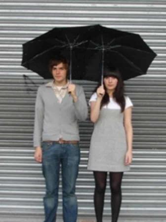 Un ombrello per due Tandem Umbrella