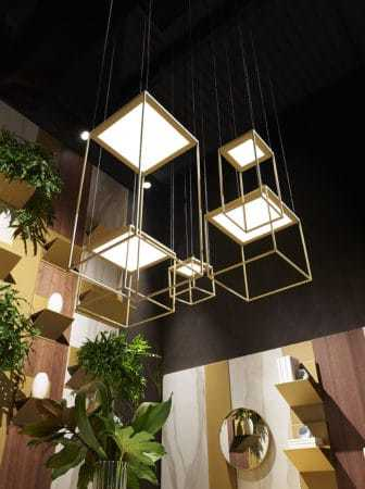 Lampade Brassie, geometrie luminose e giochi di luce