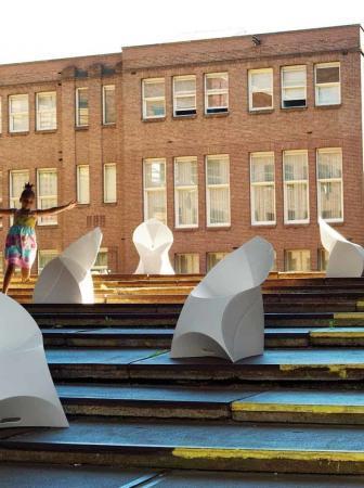 Sedia pieghevole origami Flux Chair