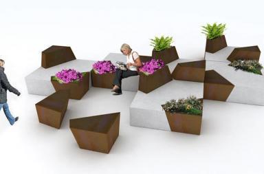 Sedute modulari Block