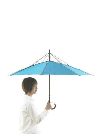 UnBRELLA: l'ombrello a rovescio