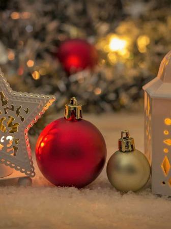 5 idee per illuminare il giardino con le luci di Natale