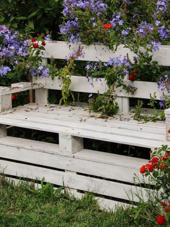 Panchine da giardino fai da te