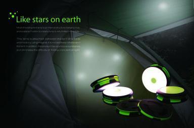 Like Stars on Earth, la lampada da campeggio innovativa