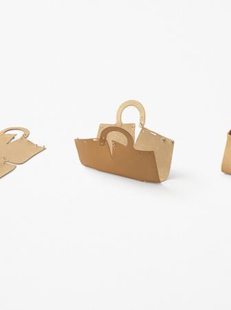 Mai: le borse da costruire di Nendo Studio