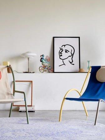 Ebba: le sedie modulari che ricordano gli scarabocchi