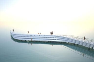 The Wave: un nuovo molo per la spiaggia di St. Kilda in Australia