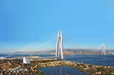 Il ponte sullo stretto di Messina: il progetto di Saverio Adriano Marchisciana