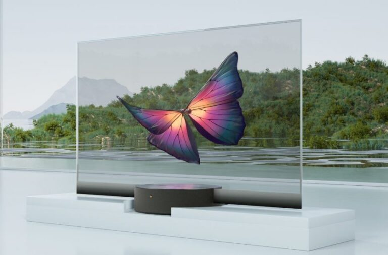 MI TV LUX: il primo televisore trasparente by Xiaomi
